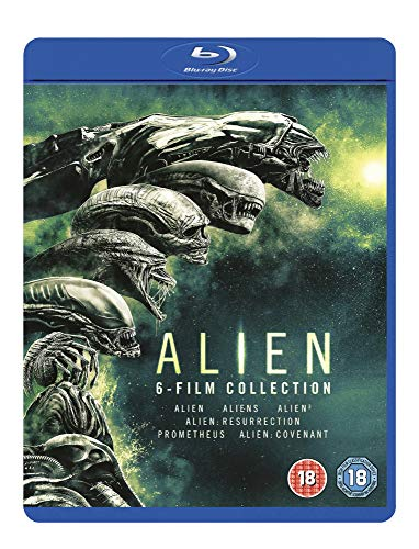 Alien 6 Films Collection: Alien / Aliens / Alien 3 / Alien: Resurrection / Prometheus / Alien Covenant (BOX) [6Blu-Ray] [Region B] (IMPORT) (Keine deutsche Version)
