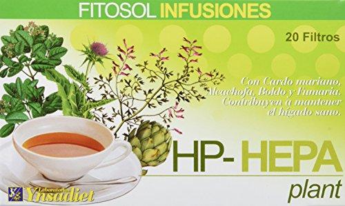 Fitosol Té Hepa - 20 Filtros