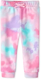 The Children's Place Baby Girls Solid Drawstring Joggers