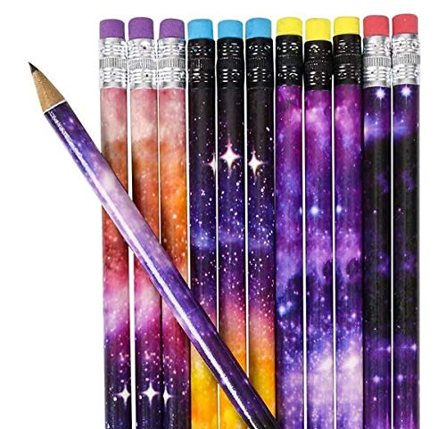 Rhode Island Novelty 7.5 Inch Galaxy Pencils 4 Dozen Per Order