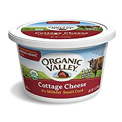 Organic Valley, Organic 4% Milkfat Cottage Cheese - 16 oz