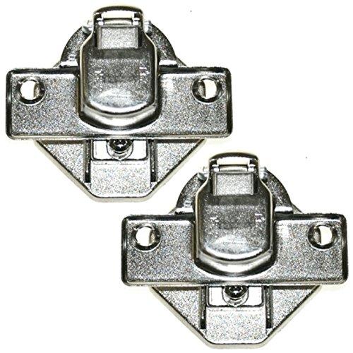 Soportes de bisagra de puerta principal Spares2go para lavadora Beko (2 unidades)