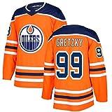 Carrey Camiseta de hockey sobre hielo, sudaderas de manga larga, ropa de hip hop para fiesta, sudadera con letras y números cosidos, versión de película, camiseta deportiva retro (S-XXXL)