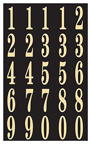 Hy-Ko MM-3N Self-Stick Numbers, 2