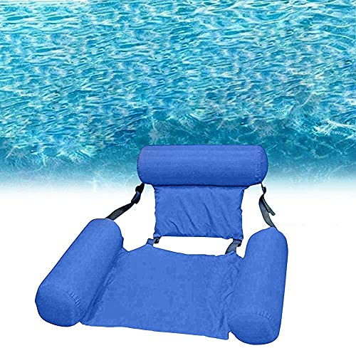 DOCHI QUEEN Water Floating Hammock Swimming Pool Float Lounge,4-in-1...