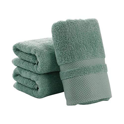 Xiaobing Toalla de algodón Puro Color Puro, pañuelo Suave, Toalla Gruesa, Toalla de baño, baño -FG-C28
