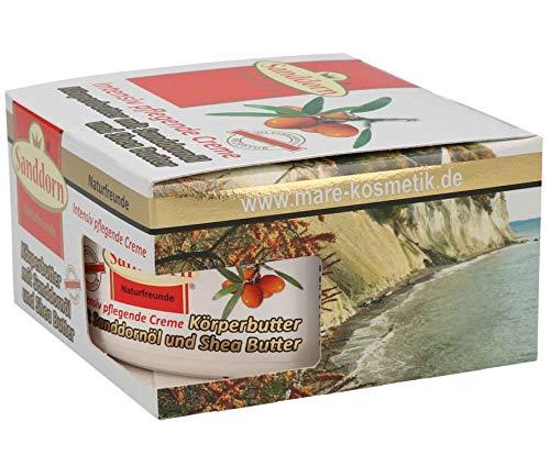 Sanddorn Naturfreunde Körperbutter mit Sanddorn Öl und Shea Butter 300 ml ohne Parabene