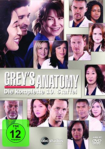 Grey's Anatomy: Die jungen Ärzte - Die komplette 10. Staffel [6 DVDs]