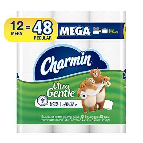 Charmin Sensitive Toilet Paper Mega Rolls