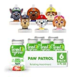 good2grow Paw Patrol Rotating Character 6 Pack 100% Apple Juice, 6-Ounce Spill Proof Character Top...