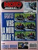 MOTO JOURNAL [No 1042] du 11/06/1992 - LE RETOUR DES MOTOS DE VOYOUS - COMPARATIF - SPORT-GT - HONDA VFR 750 - SUZUKIGSX...