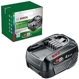 Batterie Bosch – Lithium-ION 18V 4,0Ah & 2607000181, Huile pour tronconneuse, Vert