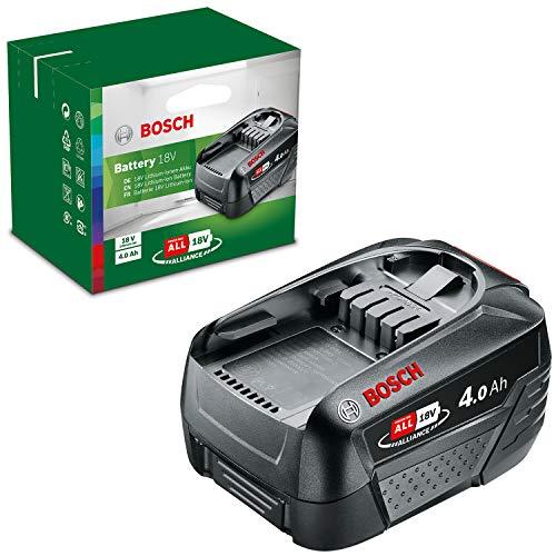Bosch Akku Pack PBA 18V 4.0Ah W-C (18 Volt System, 4.0Ah Batterie, im Karton)