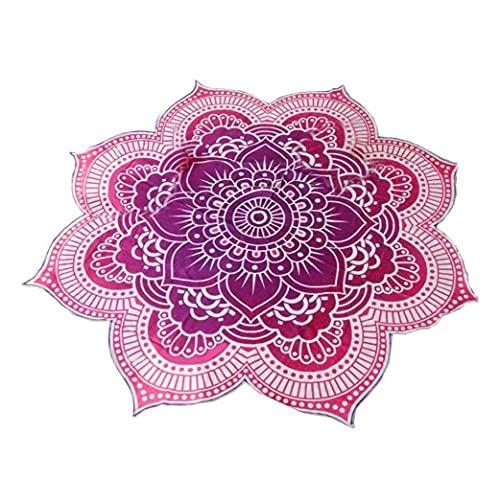NIDONE Mandala Redonda del patrón Tapiz Toalla de Playa Manta Yoga Mat Mantel Decoración de Bohemia
