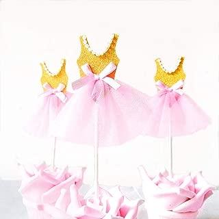 Pink Tutu Birthday Cupcakes