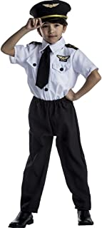Deluxe Childrens Pilot Costume Set