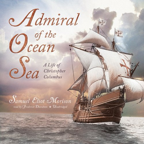 Admiral of the Ocean Sea audiobook cover art
