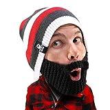 Beard Head Stubble Cruiser Beanie, Black, One Size