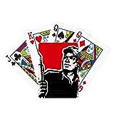 Pluma libro sombrero rojo patriótico juego de mesa divertido tarjeta mágica
