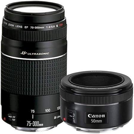 Canon Kit 2 Lentes 75-300MM III 50MM 1.8 6473A031AA