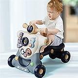 N\A Correpasillos Andandín 2 en 1, Diseño Mejorado, Andador Bebé Interactivo Plegable y Regulador de Velocidad (Size : 2 in 1)