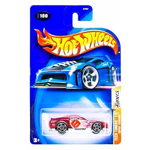 Hot Wheels 2003 Tech Tuners Super Tsunami 1/5 RED 100 1:64 Scale by Hot Wheels