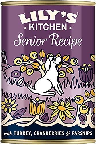 Lily s Kitchen Senior Recipe Cibo Umido per Cani (6 x 400g) - 2.83 kg