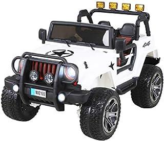 Actionbikes Coche ELECTRICO para NIÑO Jeep Wrangler 2 PLAZA
