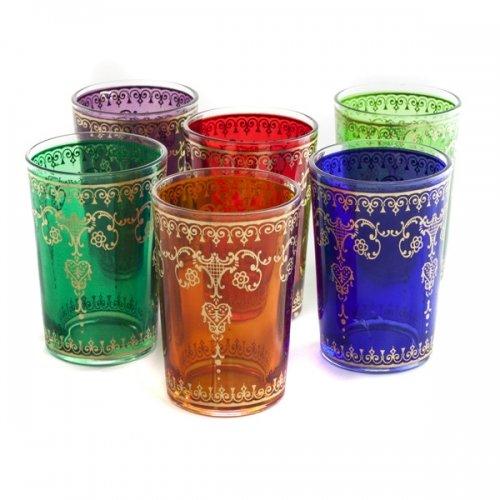 Dethlefsen & Balk Sita - Set de 6 vasos para té, estilo...
