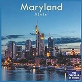 Maryland State Calendar 2022: Official US State Maryland Calendar 2022, 16 Month Calendar 2022