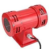 Alarma para barcos, bocina de alarma, aluminio y acero 10,000 rpm MS-490 150DB para grúas, barcos, sistemas de alarma contra incendios(220-240V)