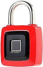 Vingerafdruk hangslot Smart Fingerprint Lock Keyless roestvrij staal USB Oplaadbare Bagage Bag Hangslot Telefoon APP Unloc...