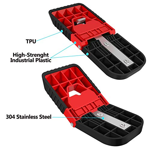 GOLDTRUE Car Door Step, Supports Both Feet, Roof Assist,Climbing Assisted Car Roof Luggage Bicycle Racks Portable Steps Pedal for SUV, RV, Off-Road Vehicle (1 Pack)