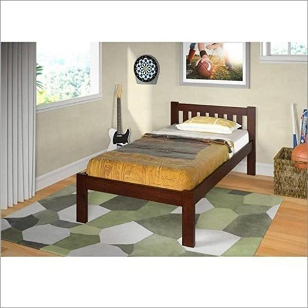 DONCO KIDS 1510TCP Mission Bed Twin Dark Cappuccino