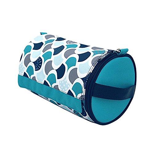 Olve Kitchen Paper Towel Holder Hanging Paper Towel Dispenser Cover for Kitchen, Camping Outdoor (Mint)