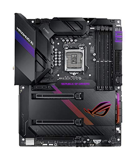 ASUS ROG Maximus XI Code 1151 Gaming Mainboard Sockel (ATX, Intel Z390, Dual M.2, USB3.2 Gen2)