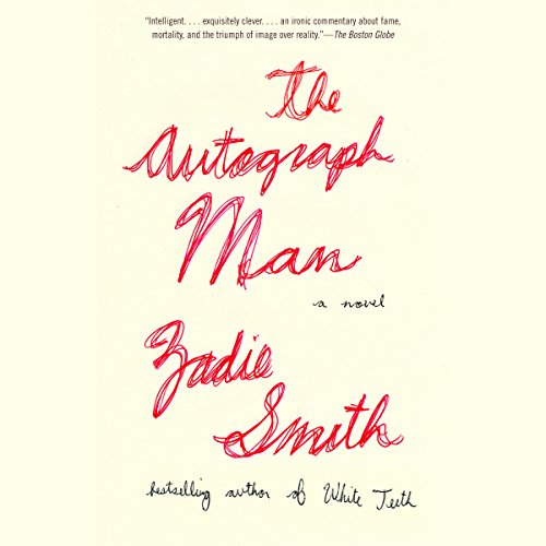 The Autograph Man audiobook cover art
