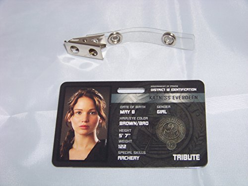 Die Tribute von Panem , Hunger Games , Katniss Everdeen , ID - Karte , ID Badge