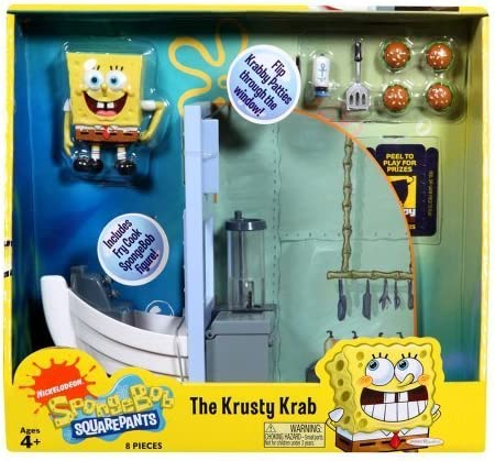 SpongeBob SquarePants The Krusty Krab Play Set product image