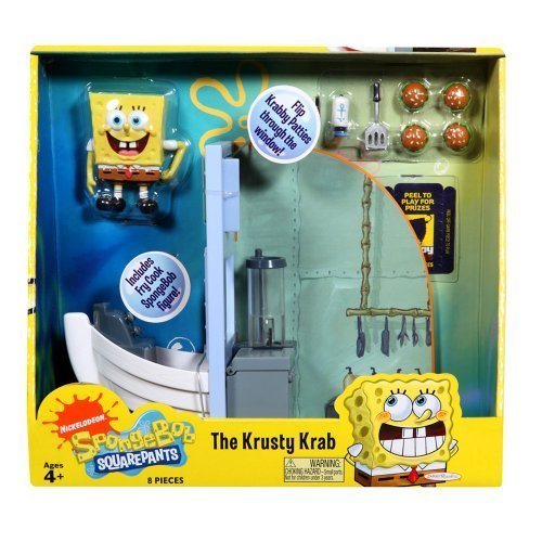 SpongeBob SquarePants The Krusty Krab Play Set