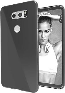 LG V30 / LG V30 Plus/LG V30S Case, Ultra [Slim Thin] Soft Skin Silicone Flexible TPU Gel Rubber Shock Absorption Protectiv...