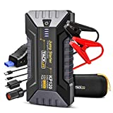 TACKLIFE 1200A Peak Car Jump Starter KP120 for up to 8L Gas and 6L Diesel Engines, 12V Car Booster, Portable Power Pack with QC 3.0 and Type-C Port