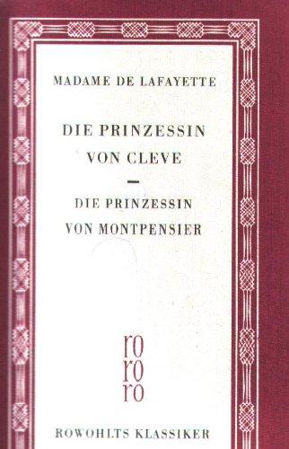 Die Prinzessin von Cleve / Die Prinzessin von Montpensier - Rowohlts Klassiker 28 rororo Leinen