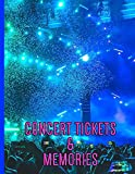 The Crowd and Confetti - Concert Ticket and Memories: Custom Notebook