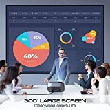 Zoom IMG-2 proiettore vamvo l6200 videoproiettore full