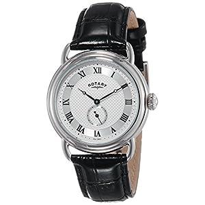 Rotary Men's GS02424/21 Analog Display Quartz Black Watch