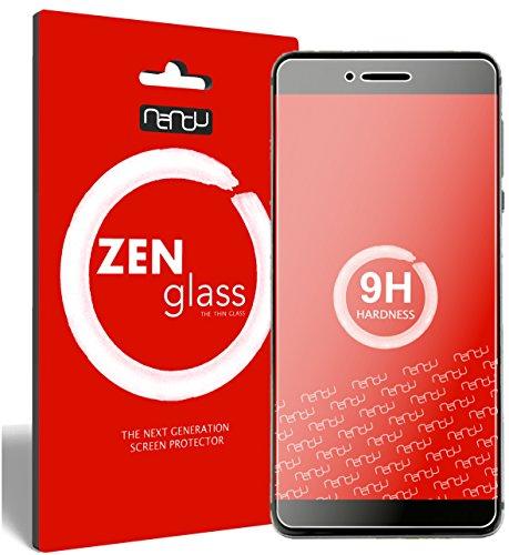 ZenGlass Flexible Glas-Folie kompatibel mit Vernee Mars Pro Panzerfolie I Bildschirm-Schutzfolie 9H I (Kleiner Als Das Gewölbte Bildschirm)