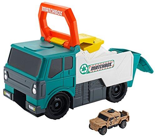 Matchbox Power Launcher Garbage Truck