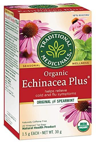 Traditional Medicinals Organic Echinacea Plus, 20 tea bags, 30g
