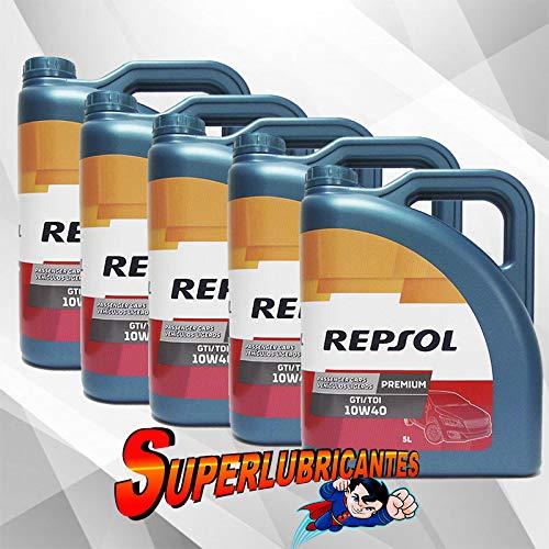 Mundocoche Repsol Elite Premium TDI-GTI 10W40 5x5L(25Litros)
